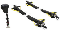 Electric Ground Control TT Automatic 5-Point Travel Trailer Leveling System - 10,000 lbs