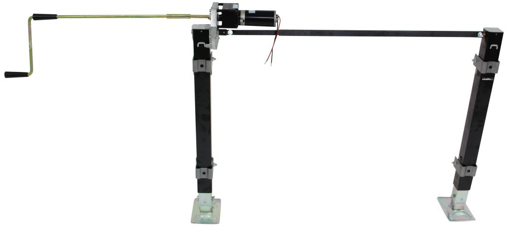 stromberg carlson electric landing gear set - weld on - 34-7  8 u0026quot  lift