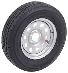 "Westlake ST205/75R15 Radial Trailer Tire w/ 15"" Silver Mod Wheel - 5 on 4-1/2 - Load Range D"