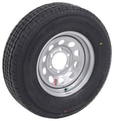 "Westlake ST225/75R15 Radial Trailer Tire w/ 15"" Silver Mod Wheel - 6 on 5-1/2 - Load Range E"
