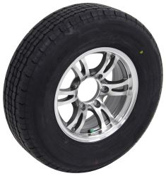 "Westlake ST225/75R15 Radial Tire w 15"" Jaguar Aluminum Wheel - 6 on 5-1/2 - LR E - Gray"