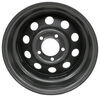 "Lionshead Steel Modular Trailer Wheel - 14"" x 5-1/2"" - 5 on 4-1/2 - Silver Steel Wheels - Powder Coat LHHA211"