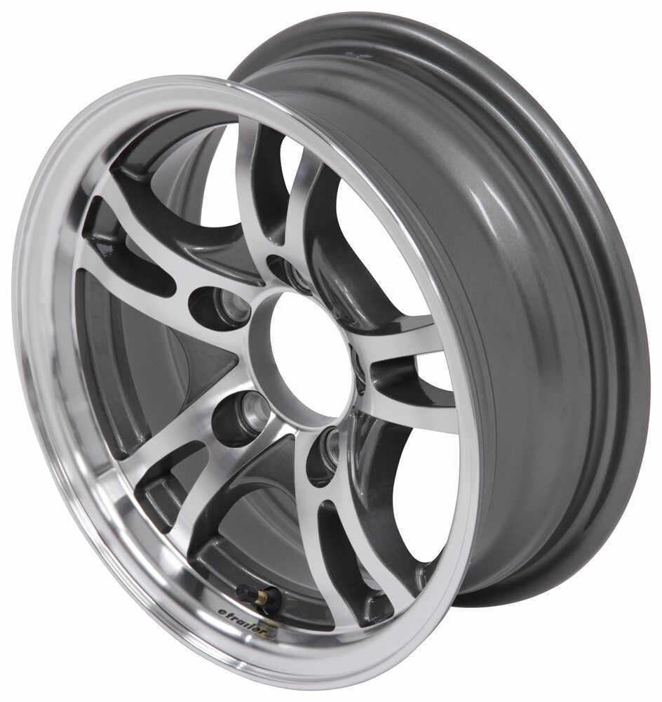 aluminum jaguar trailer wheel 13 x 5 rim 5 on 4 1 2 gunmetal 4 Horse Bumper Pull Trailer aluminum jaguar trailer wheel 13 x 5 rim 5 on 4 1 2 gunmetal gray lionshead tires and wheels lhsj101g