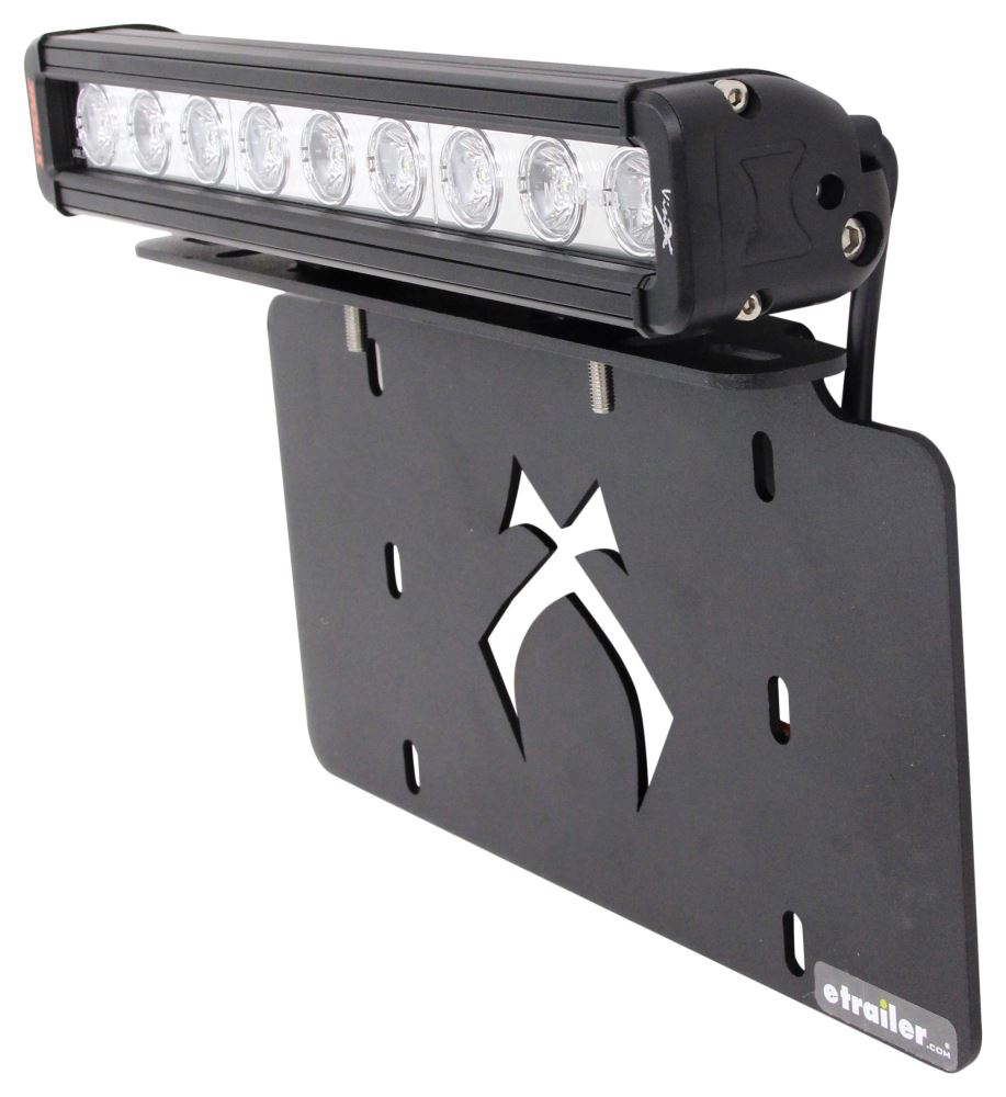 Compare License Plate Mounting Vs Vision X Xmitter