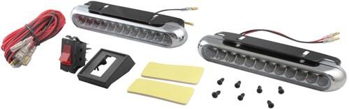Thin Line Led Racing Light Kit Oblong 6 1 4 Quot X 1 Quot 12