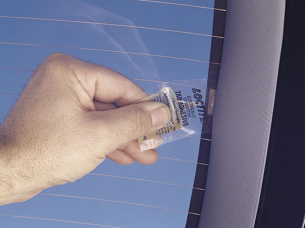 Loce Rear Window Defogger Tab Adhesive 0 03 02 Fl Oz Kit Tools Lt21351