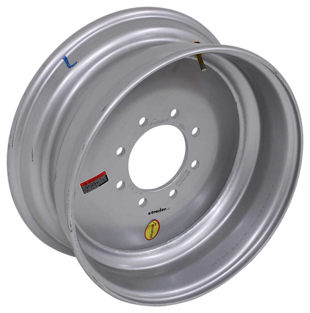Tires and Wheels LT2524SP - 8 on 6-1/2 Inch - Taskmaster