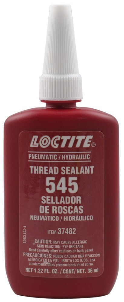 Loctite Thread Sealant 545 - Purple - Non-Contaminating Thread and