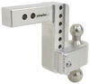 "180 Hitch 2-Ball Mount w/ Stainless Steel Balls - 2"" Hitch - 6"" Drop, 7"" Rise - 10K Stainless Steel Ball LTB6-2"