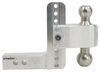 "180 Hitch 2-Ball Mount w/ Stainless Steel Balls - 2"" Hitch - 6"" Drop, 7"" Rise - 10K Drop - 6 Inch,Rise - 7 Inch LTB6-2"