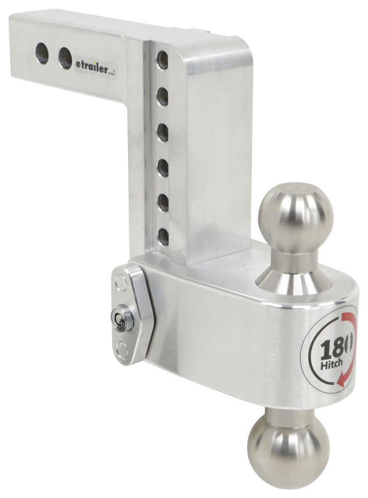 Weigh Safe Drop - 6 Inch,Rise - 7 Inch Ball Mounts - LTB6-2