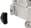"180 Hitch 2-Ball Mount w/ Stainless Balls - 3"" Hitch - 10"" Drop, 10"" Rise - 21K Built-In Locks LTB10-3"