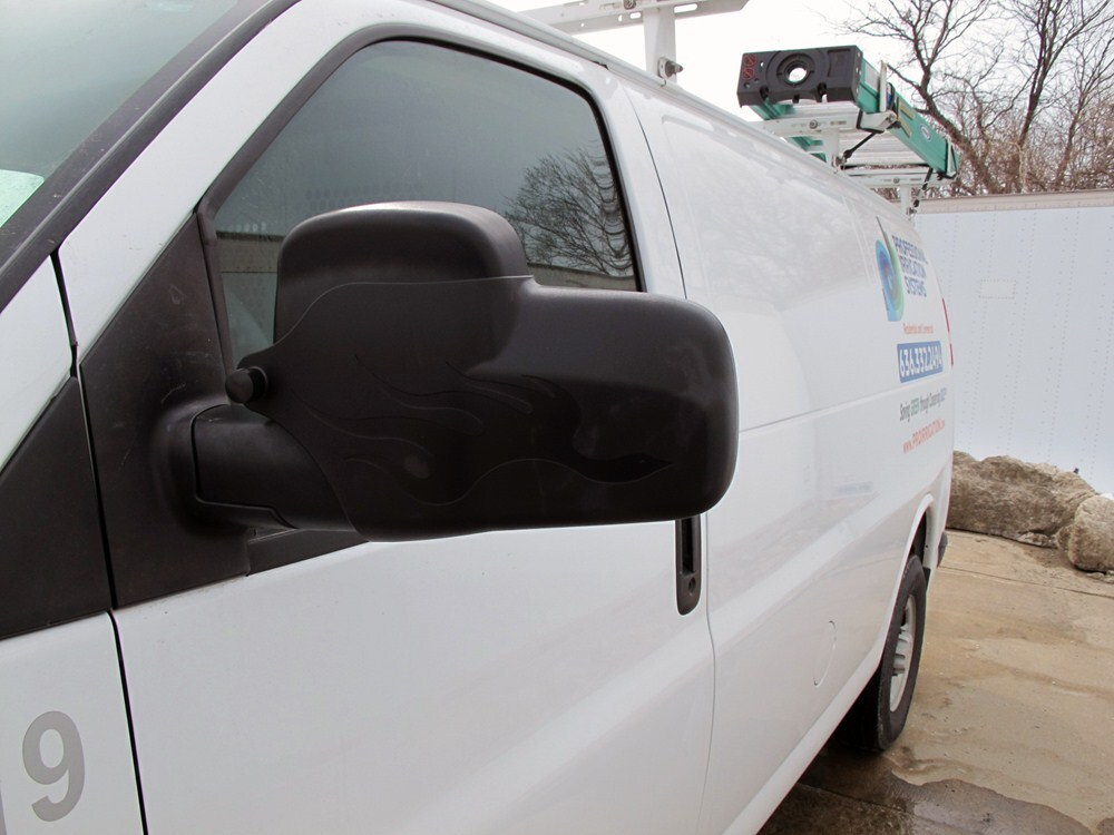 2016 GMC Savana Van Custom Towing Mirrors - Longview