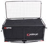 "24x48-3/4 Carpod Walled, Folding Cargo Carrier - 2"" Hitches - w/ Lid, Bag, Rise Shank - 450 lbs Standard Duty M2205-01-02"
