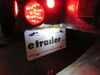 0  trailer lights peterson license plate great white led mini utility light - 1 diode black housing clear lens