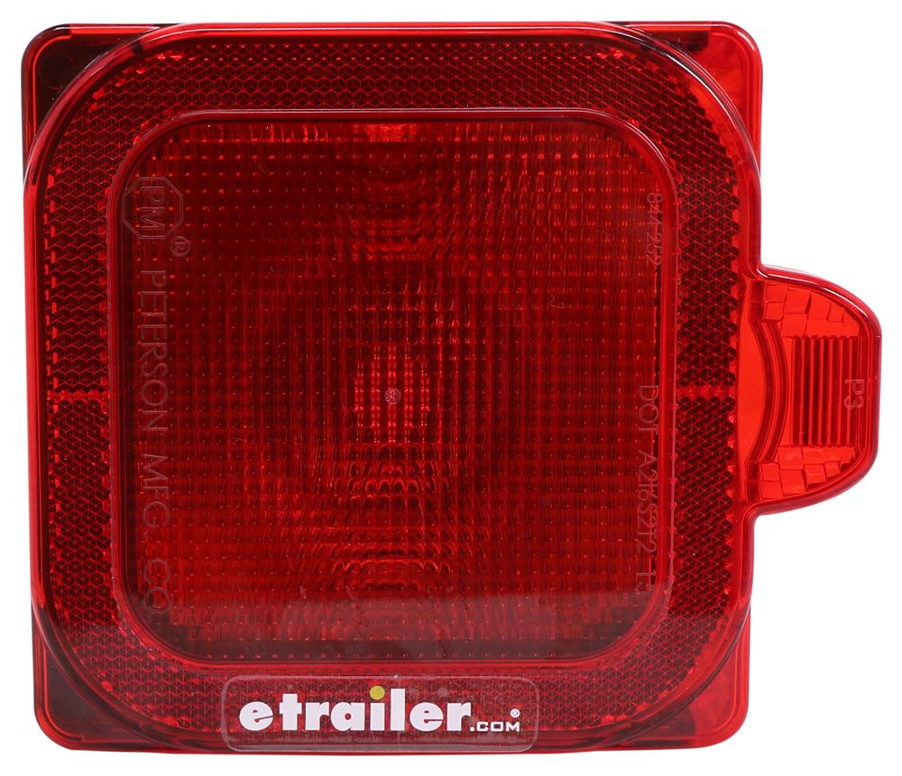 Trailer Lights M844 - Red - Peterson