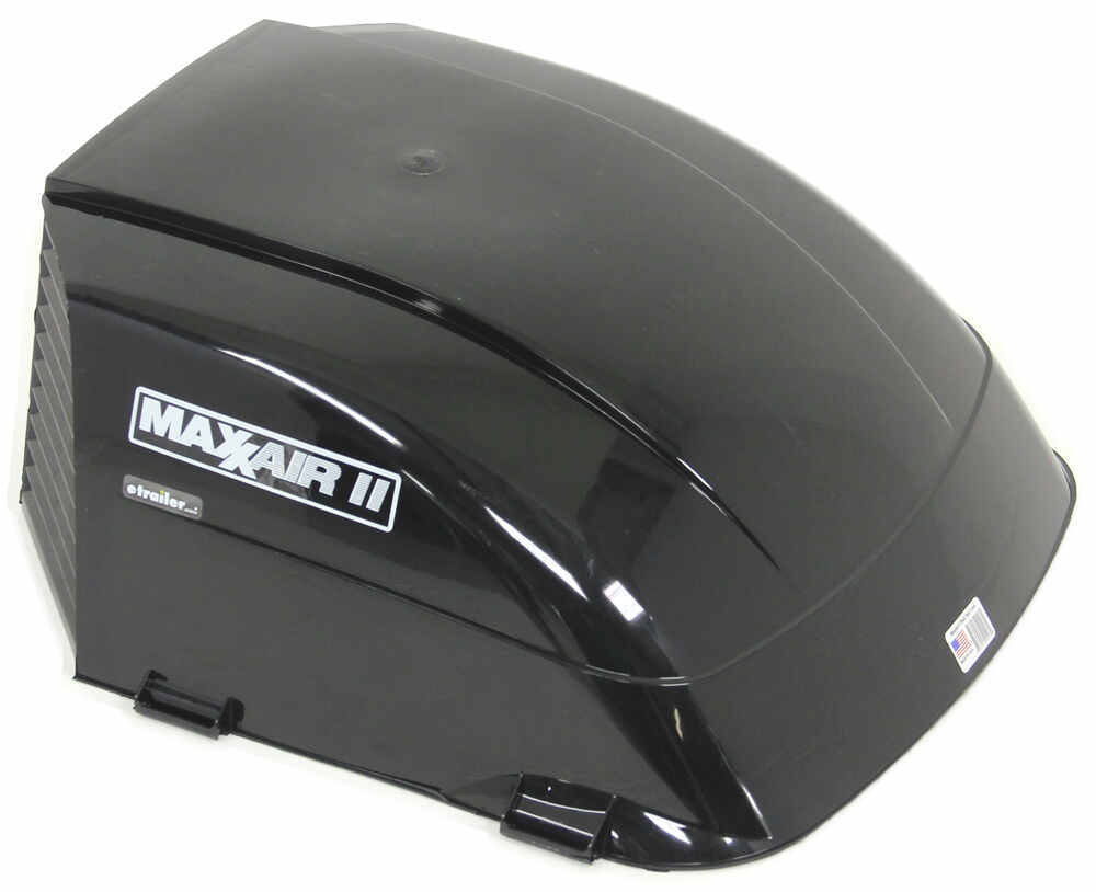 Maxxair Ii Rv And Enclosed Trailer Roof Vent Cover Black