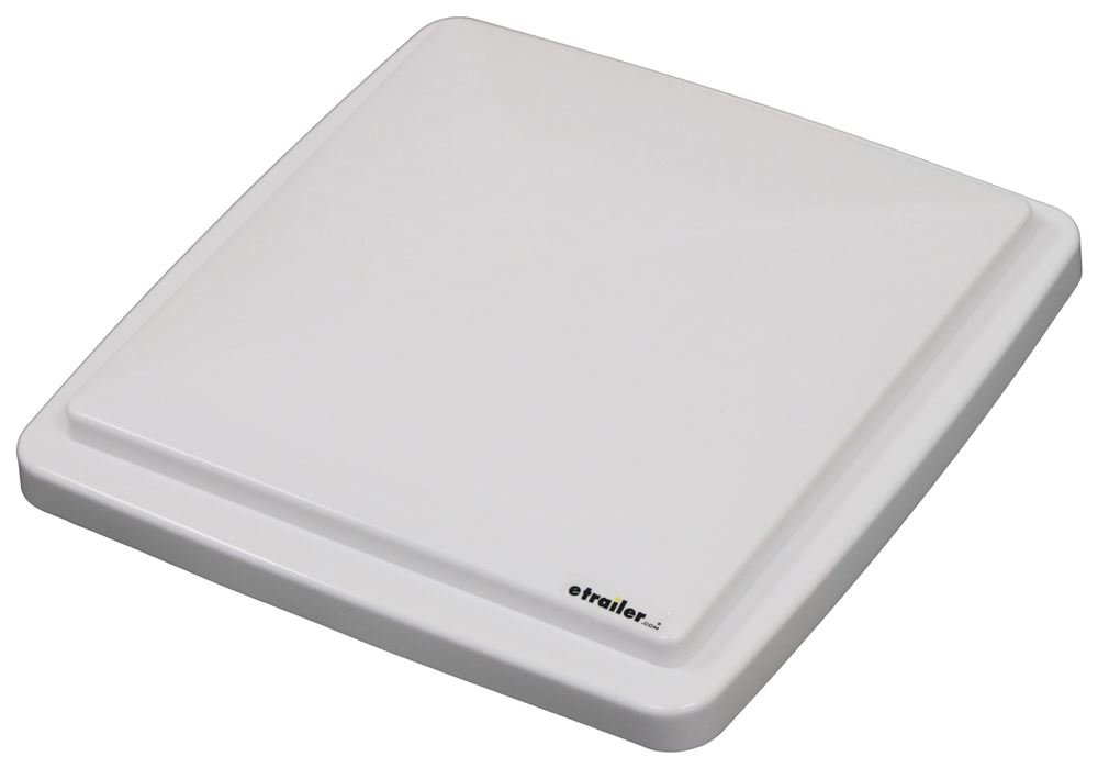 Replacement Lid for MaxxFan and MaxxFan Plus Roof Vents - White Replacement Lid MA10A40002K