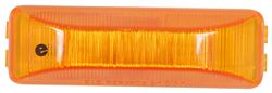 Sealed, Thin Line Two-Bulb Trailer Clearance, Side Marker Light - Amber