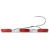 Red 3 Light Truck and Trailer Identification Light Bar with White Base