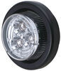 Optronics LED Clearance or Side Marker Light w/ Grommet and Pigtail - Submersible - 3 Diodes - Amber LED Light MCL-50CAK