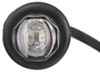 optronics trailer lights clearance submersible uni-lite led and side marker light w grommet - 2 diodes clear lens amber