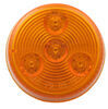 Optronics LED Trailer Clearance or Side Marker Light - Submersible - 3 Diodes - Round - Amber Lens 2 Inch Diameter MCL55AB