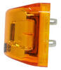 optronics trailer lights clearance rear side marker miro-flex thinline led or light - sumbersible 4 diodes amber lens