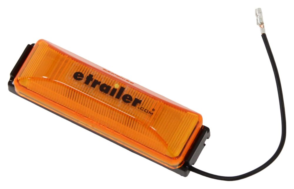Thinline LED Trailer Clearance or Side Marker Light w/ cket - Submersible on