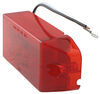 Side View of Red Rectangular LED Trailer Clearance Side Marker Light