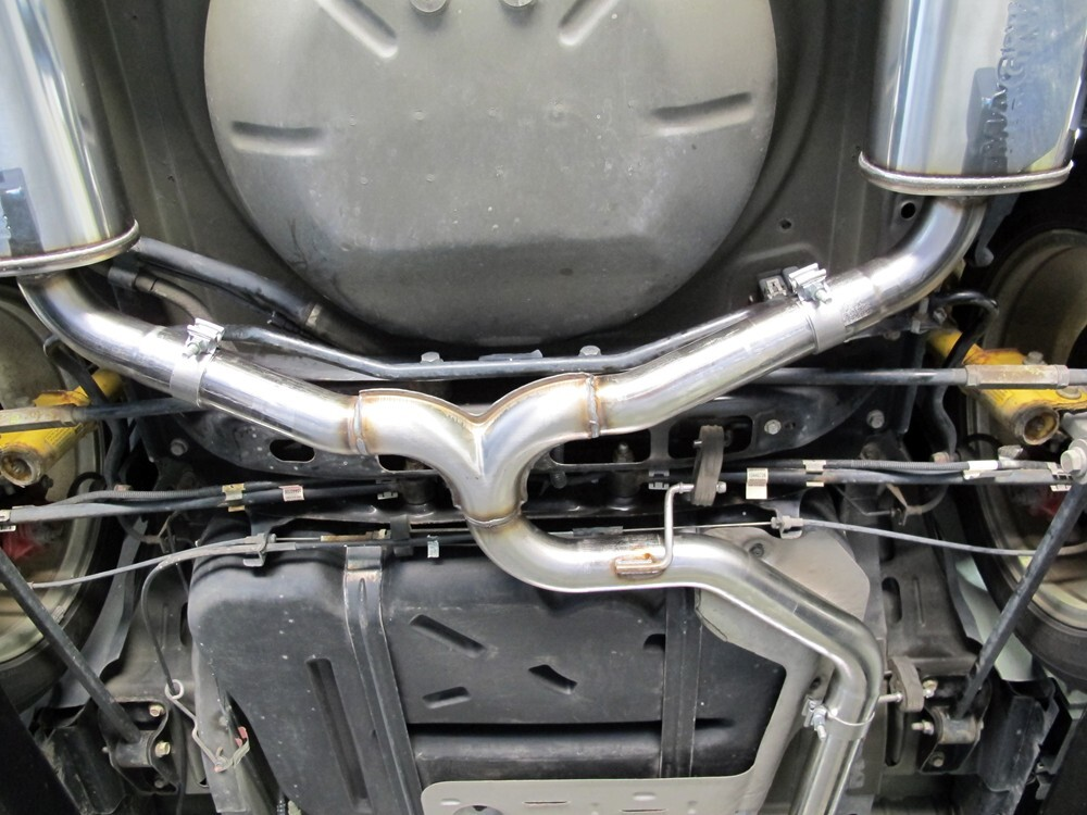 Magnaflow Cat Back Exhaust >> MagnaFlow Stainless Steel Cat-Back Exhaust System - Gas ...