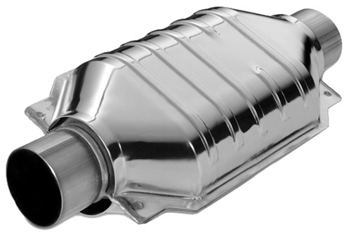 Magnaflow Polished Stainless Steel Catalytic Converter Universal Converters Mf94309: Steel Catalytic Converter At Woreks.co