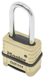 "Master Lock 2-1/4"" Wide ProSeries Resettable Combination Padlock with 2-1/16"" Shackle"