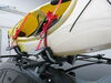 Malone DownLoader Kayak Carrier with Tie-Downs - J-Style - Folding - Side Loading Clamp On MPG114MD