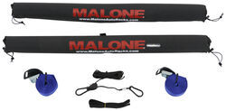 "Malone SUP 30 Rack Pad Kit with Tie-Downs for Crossbars - 30"" Long - Qty 2"
