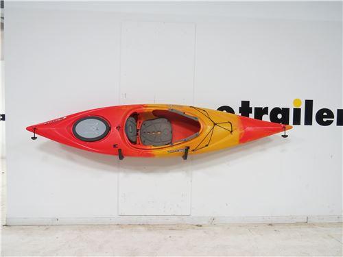 Malone HighRise Kayak Storage Rack   J Style   Wall Mount   1 Kayak