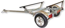Malone MicroSportXT Trailer - Aluminum Wheels - Retractable Tongue - 13' Long - 375 lbs