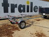 0  trailers malone roof rack on wheels microsportxt trailer - 13' long 78 inch crossbars retractable tongue 800 lbs