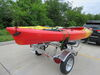 0  trailers malone roof rack on wheels microsport trailer for 2 kayaks - saddle style 13' long 800 lbs