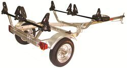 Malone MicroSport Trailer with SaddleUp Pro Kayak Carriers - 13' Long - 2 Kayaks