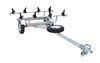 MPG461GU - 2 Inch Ball Coupler Malone Roof Rack on Wheels