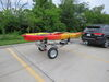 0  trailers malone roof rack on wheels 13 feet long microsport trailer for 2 kayaks - saddle style 13' 800 lbs