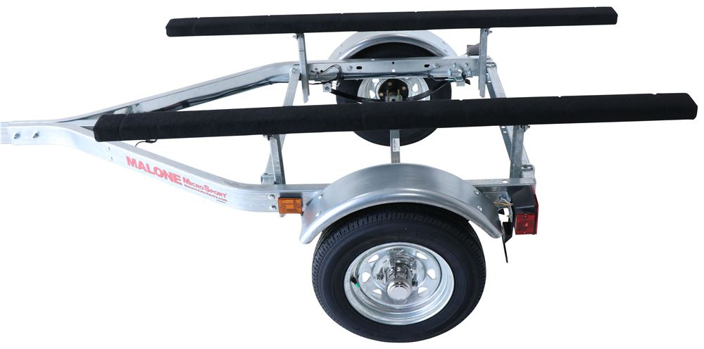 Malone MicroSport Jon Boat Trailer with Winch and Bow Stop