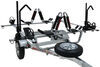 "Malone MicroSport Trailer w/Bike and J-Pro Carrier - 13' Long - 78"" Crossbars - 800 lbs 2 Inch Ball Coupler MPG461KB"
