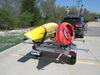 "Malone MicroSport LowBed Trailer - Galvanized Steel - 13' Long - 78"" Crossbars - 800 lbs 800 lbs MPG464-LB"