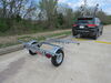 """Malone MicroSport LowBed Trailer - Galvanized Steel - 13' Long - 78"""" Crossbars - 800 lbs 13 Feet 3 Inches Long MPG464-LB"""
