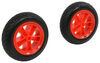 malone accessories and parts watersport carriers replacement never-go-flat wheels for clipper nomad xpress solo carts - qty 2