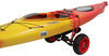 Malone YakHauler Heavy-Duty All-Terrain Boat Cart with Padded Bunks - No Flat Tires - 250 lbs Cart MPG508