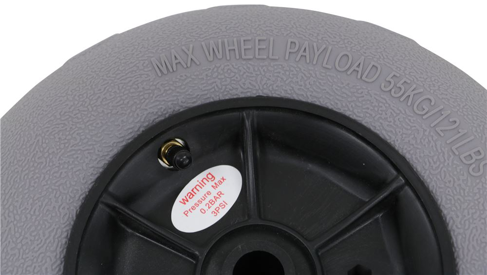 Replacement Soft Terrain Wheels for Malone BeachHauler or YakHauler