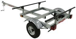 "Malone XtraLight Trailer - 11' Long - 58"" Crossbars - 275 lbs"